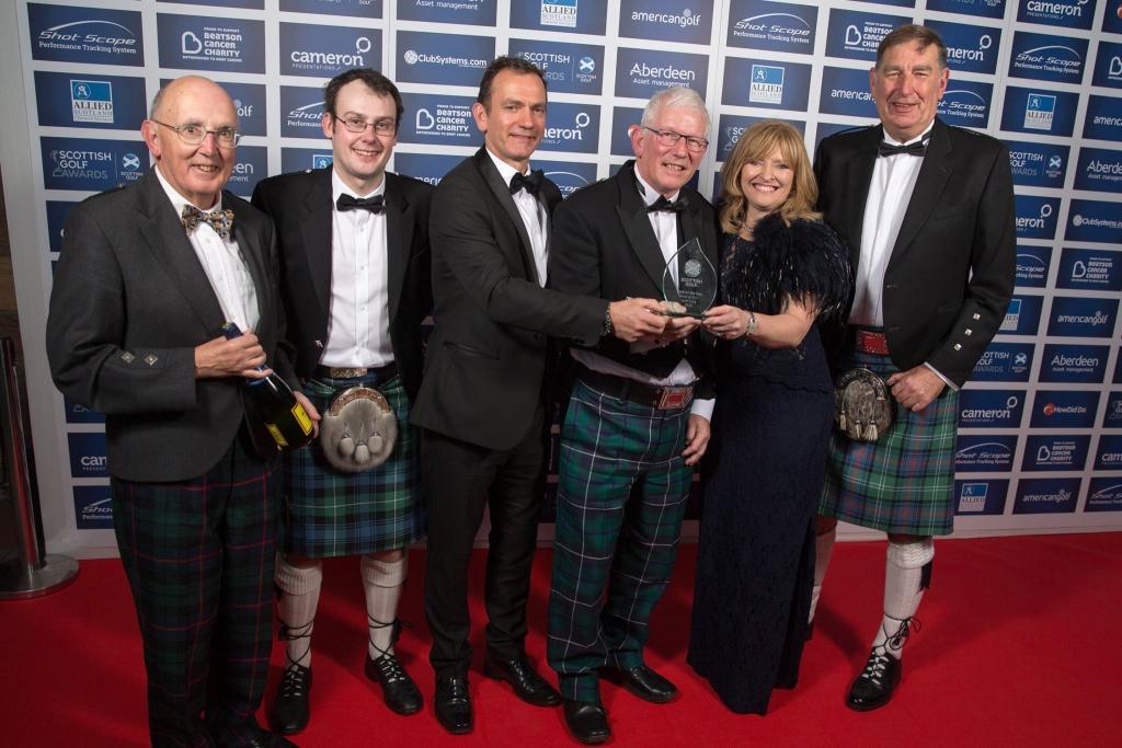 Scottish Golf Club of the Year 2016 Presentation