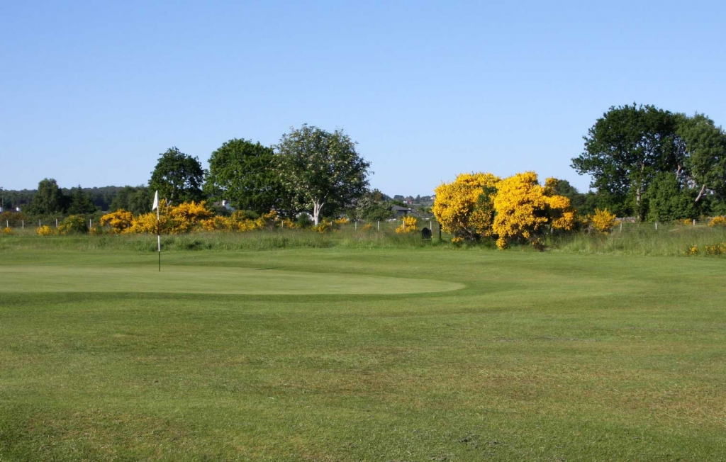 6th green Carn a Chlarsair