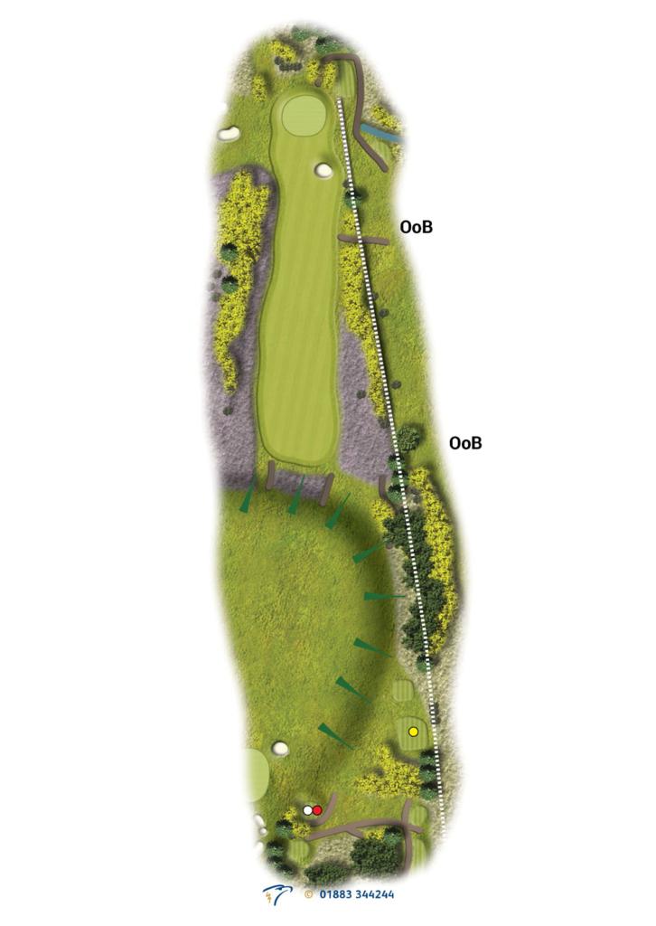 Hole 8 Teandalloch