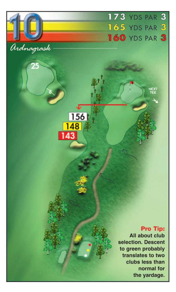 Hole 10 Ardnagnash