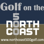 North Coast 500 Golf Logo