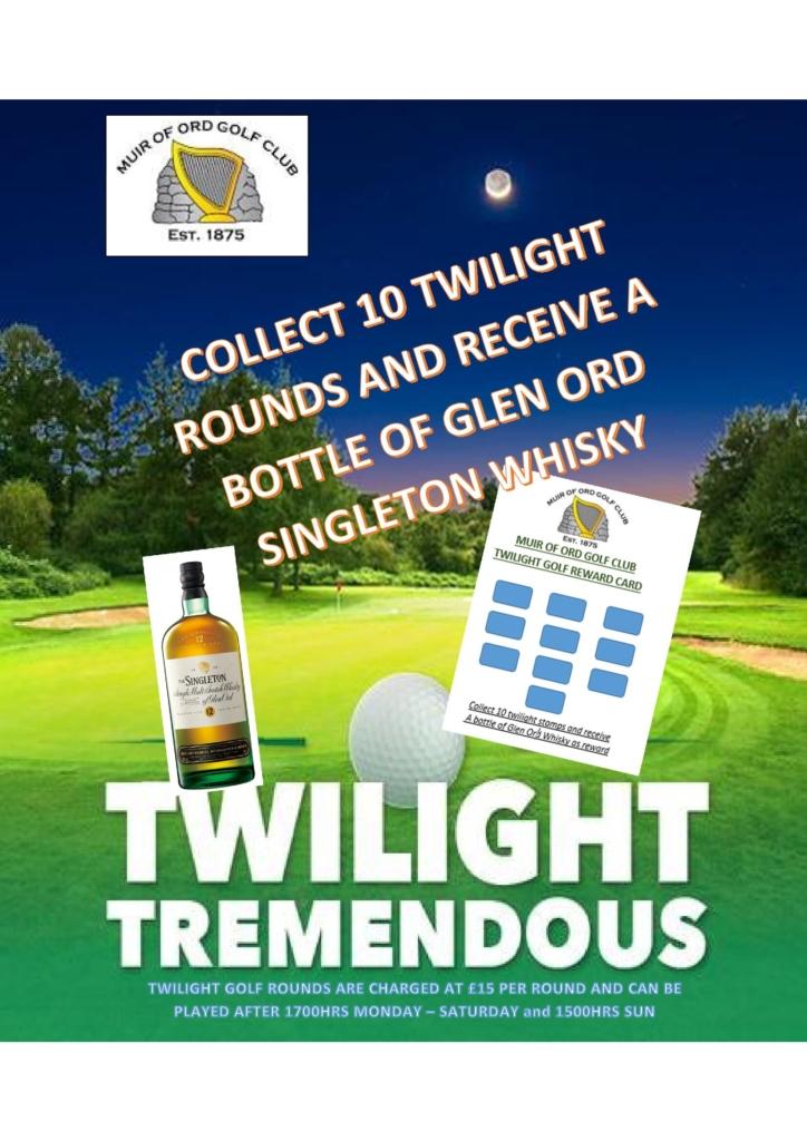 Twilight Golf Offer